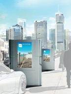 рекламная зарядная станция chago wall