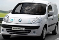 электромобиль Renault Kangoo ZE