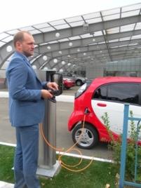 зарядить электромобиль в киеве